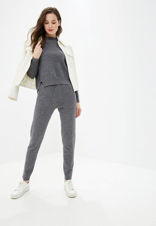 женский костюм lusio, серый