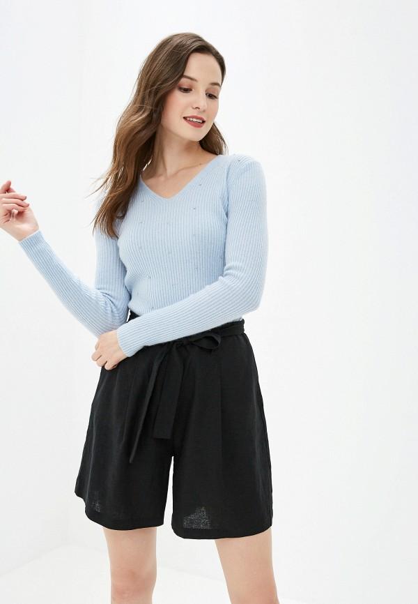 женский пуловер lusio, голубой