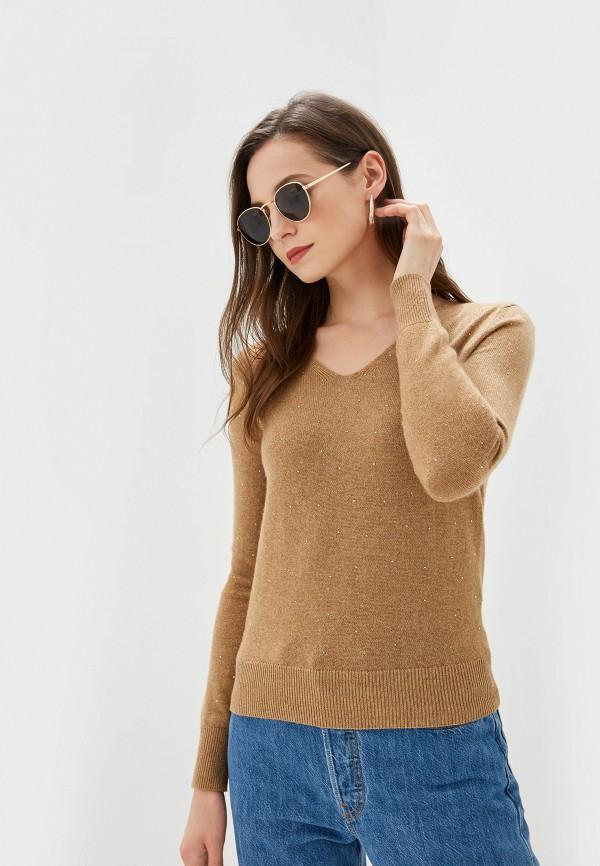 женский пуловер lusio, бежевый