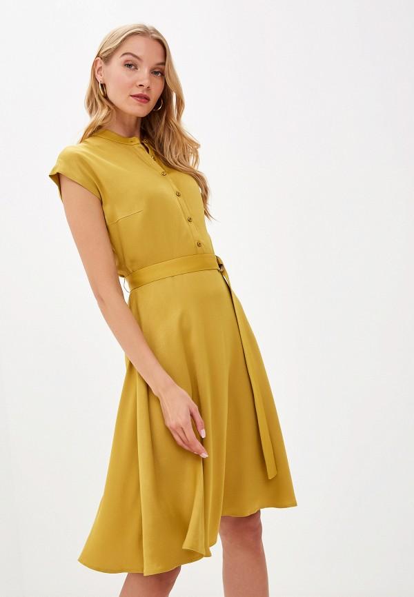 женское платье lusio, желтое