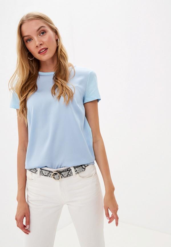 женская футболка lusio, голубая