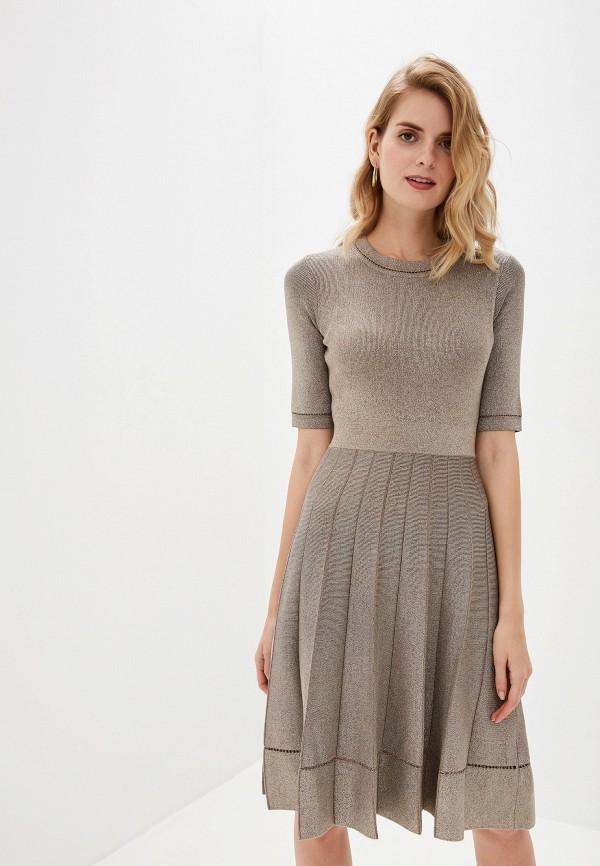 Платье Lusio Lusio LU018EWGRFR9 платье lusio цвет бежевый af18 020076 размер m 44