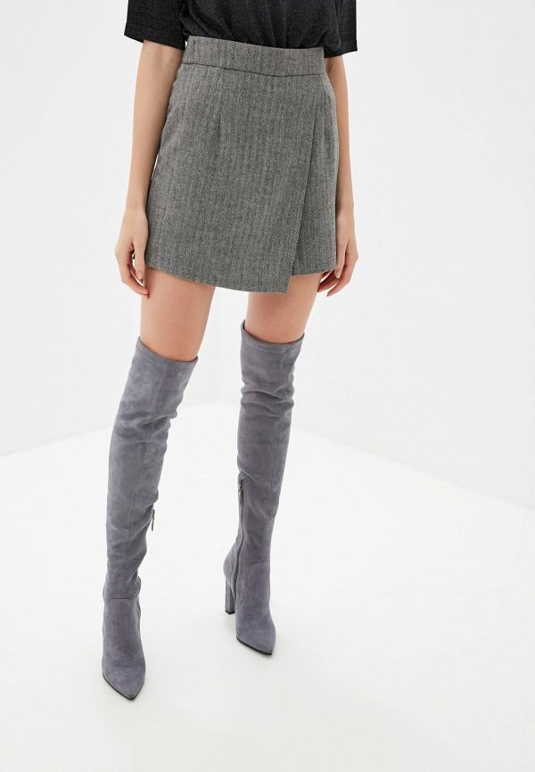 Юбка-шорты Lusio Lusio LU018EWGRFT9 юбка lusio цвет серый af18 030018 размер l 46