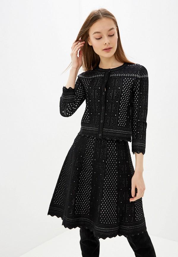 женский костюм lusio, черный