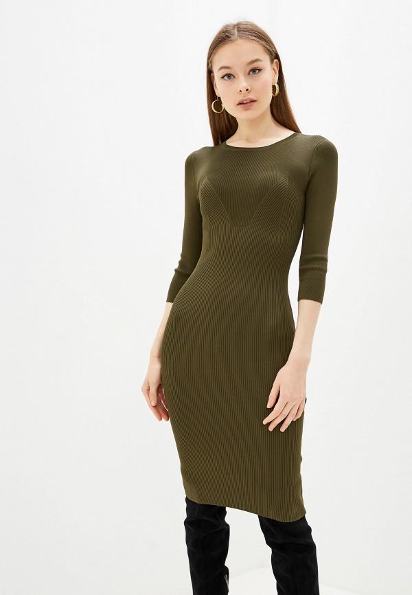 женское платье lusio, хаки