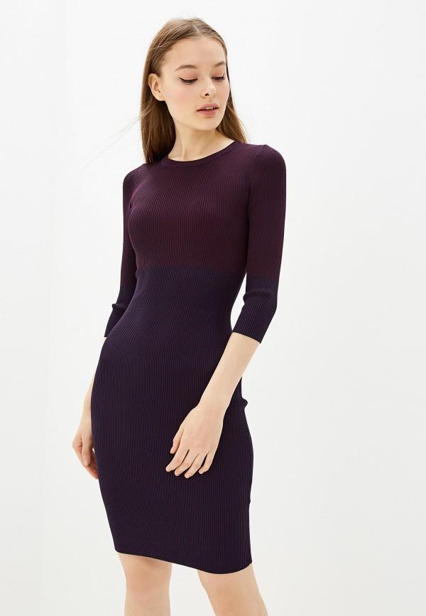 женское платье lusio, фиолетовое