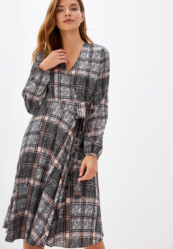 женское платье lusio, серое