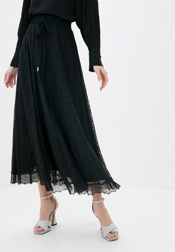 женская юбка lusio, черная