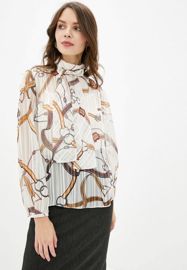 женская блузка lusio, бежевая