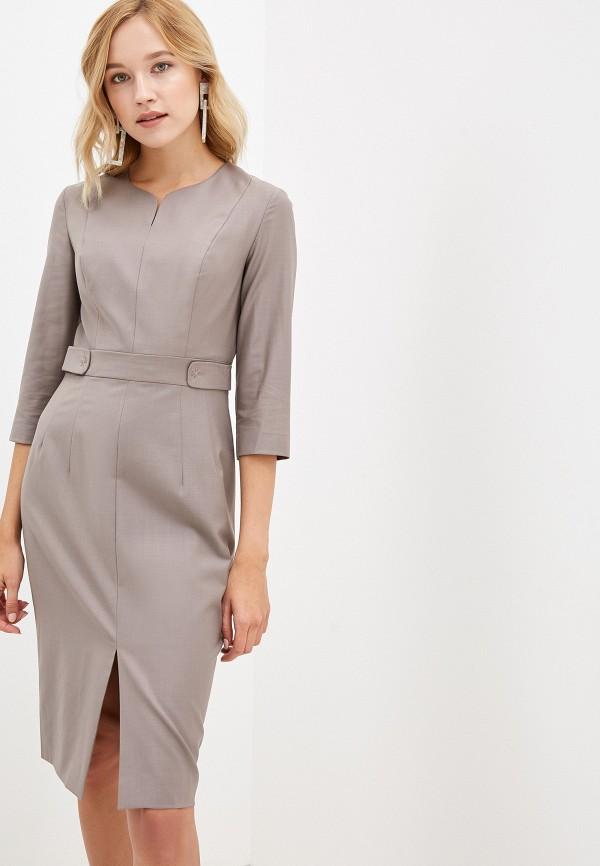 женское повседневные платье lusio, бежевое