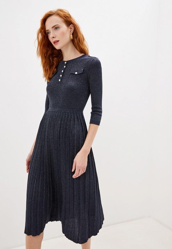 женское повседневные платье lusio, синее