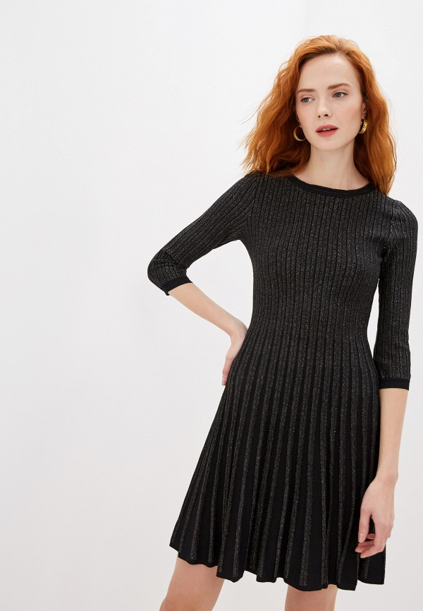 женское платье lusio, черное