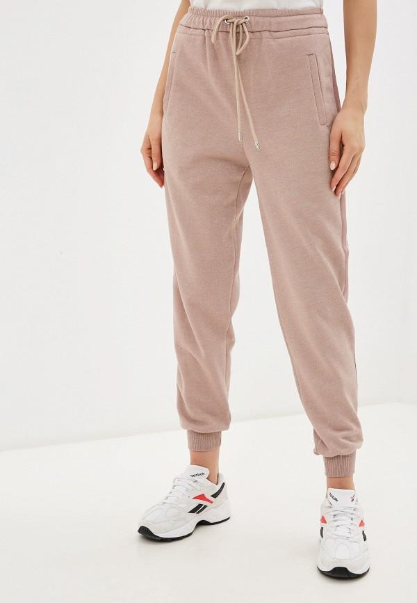 женские спортивные брюки lusio, розовые