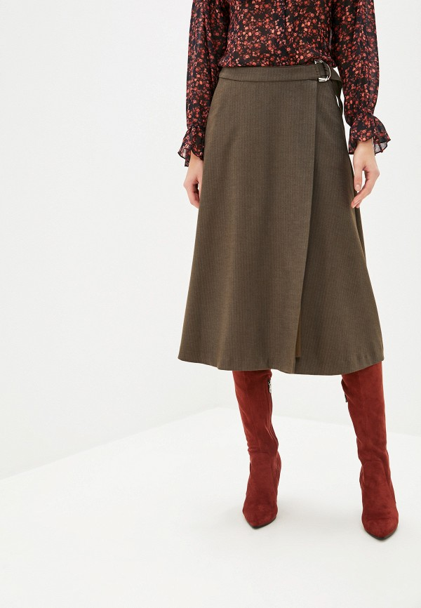 женская юбка lusio, хаки