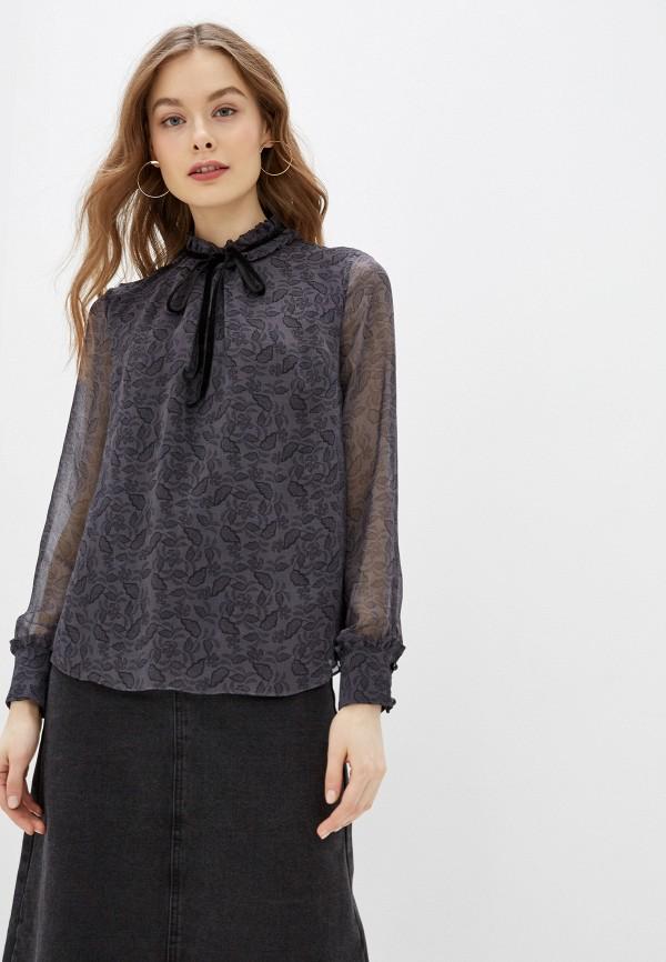 женская блузка lusio, серая