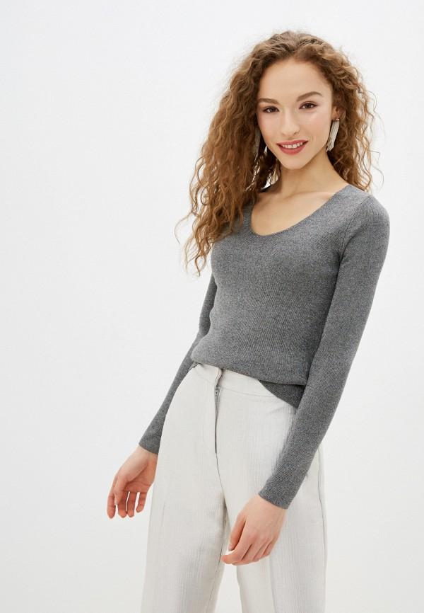 женский пуловер lusio, серебряный