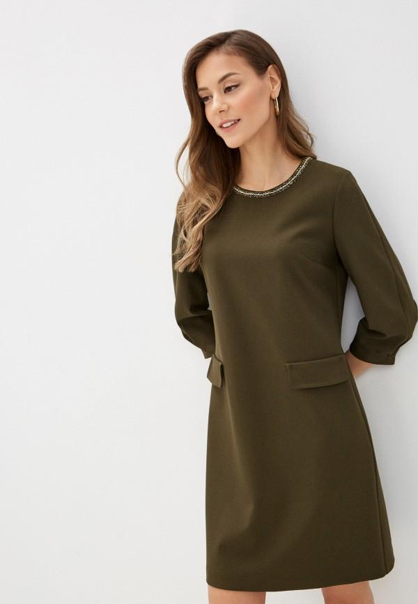 женское повседневные платье lusio, хаки