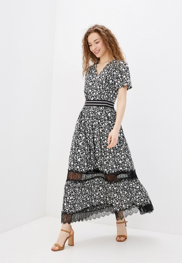 женское повседневные платье lusio, черное