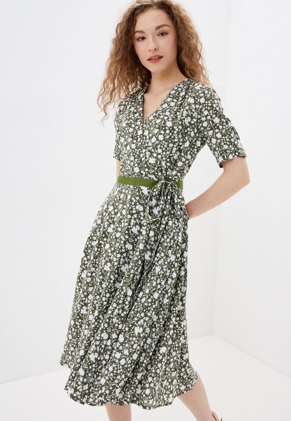 женское повседневные платье lusio, зеленое