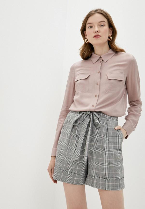женская блузка lusio, розовая