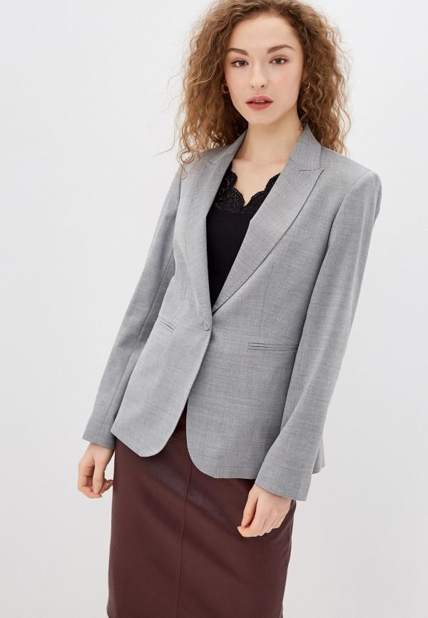 женский пиджак lusio, серый