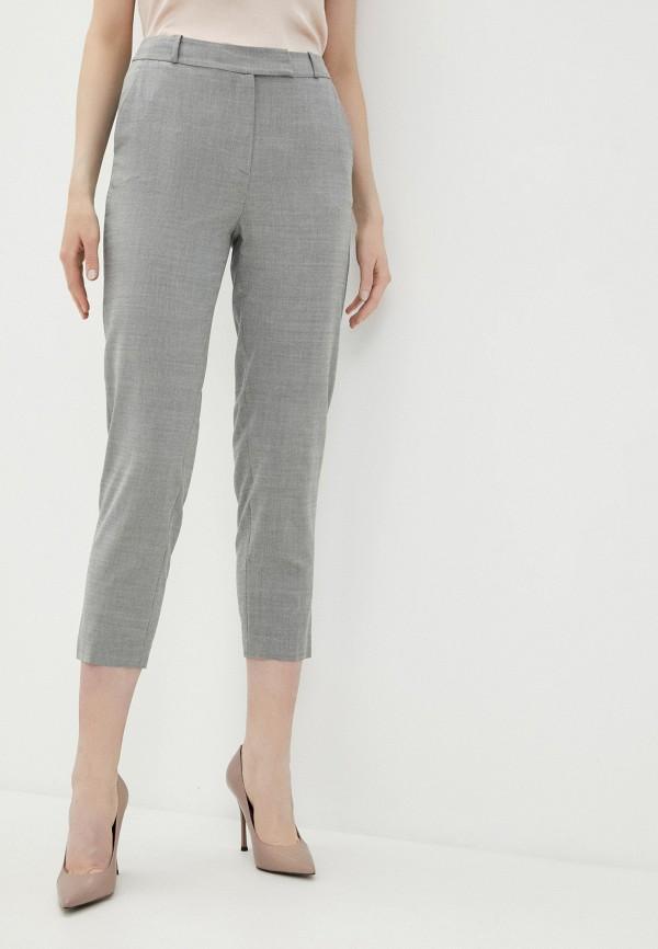 женские классические брюки lusio, серые