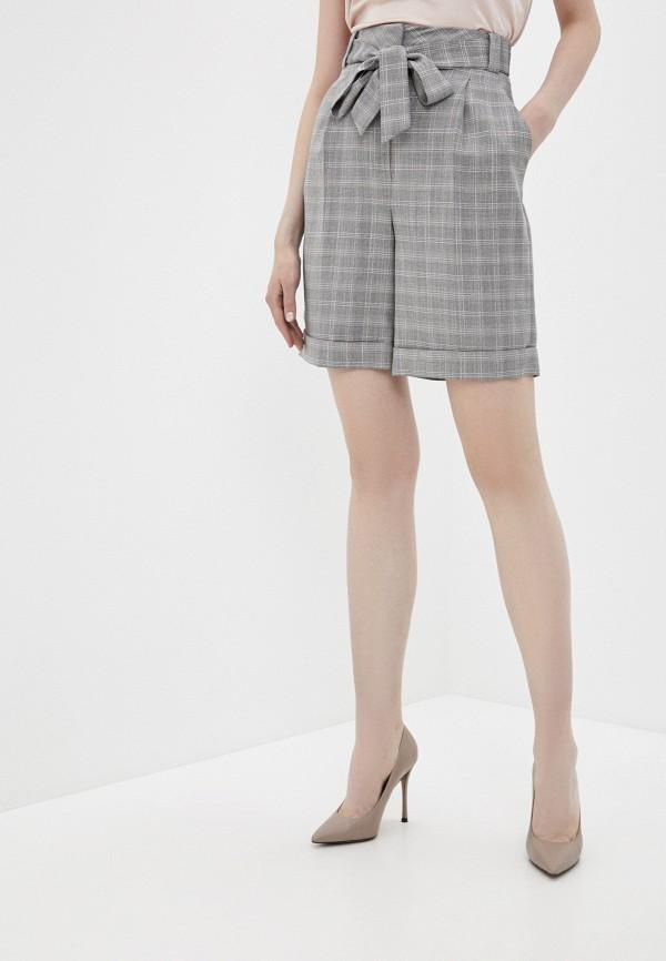 женские повседневные шорты lusio, серые