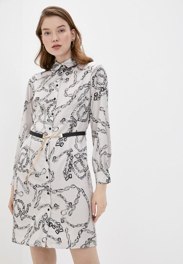 женское платье lusio, бежевое
