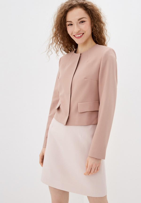 женский жакет lusio, розовый