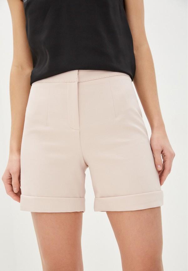женские повседневные шорты lusio, розовые