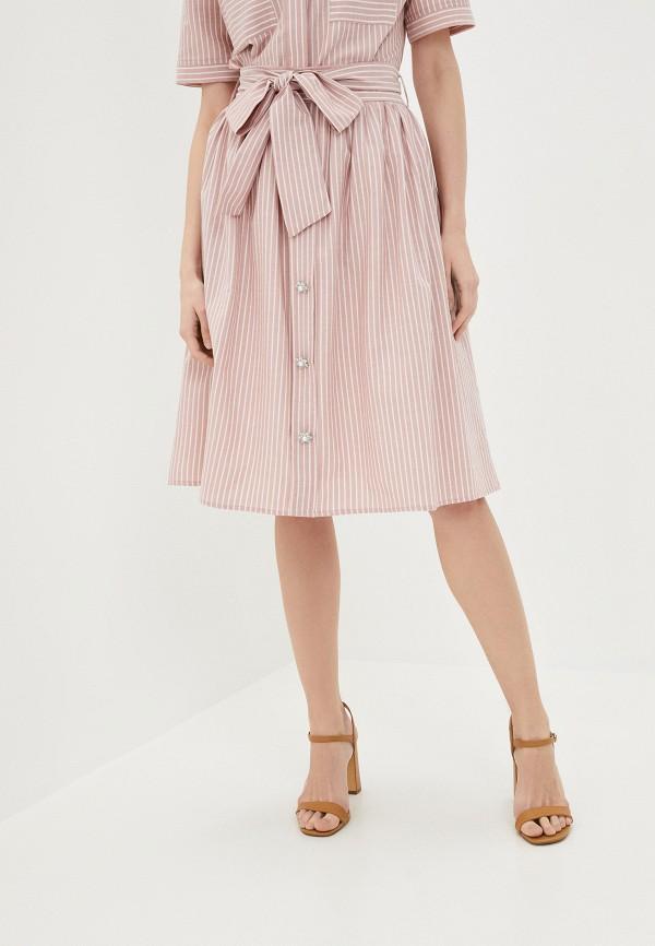 женская юбка lusio, розовая