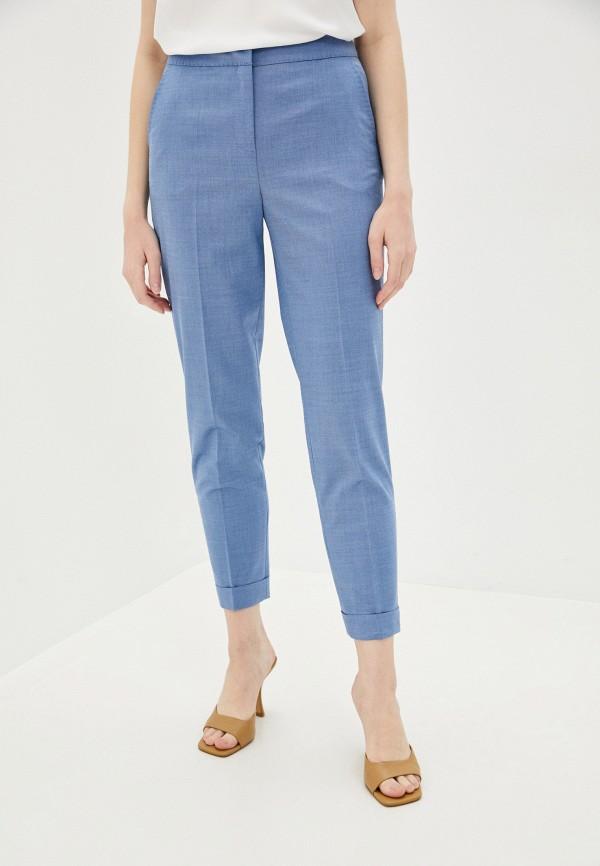 женские повседневные брюки lusio, голубые