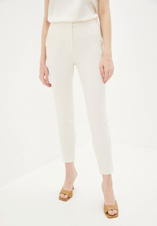 женские повседневные брюки lusio, белые