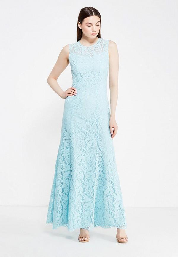 Купить Платье Lusio, lu018ewubv27, бирюзовый, Осень-зима 2017/2018