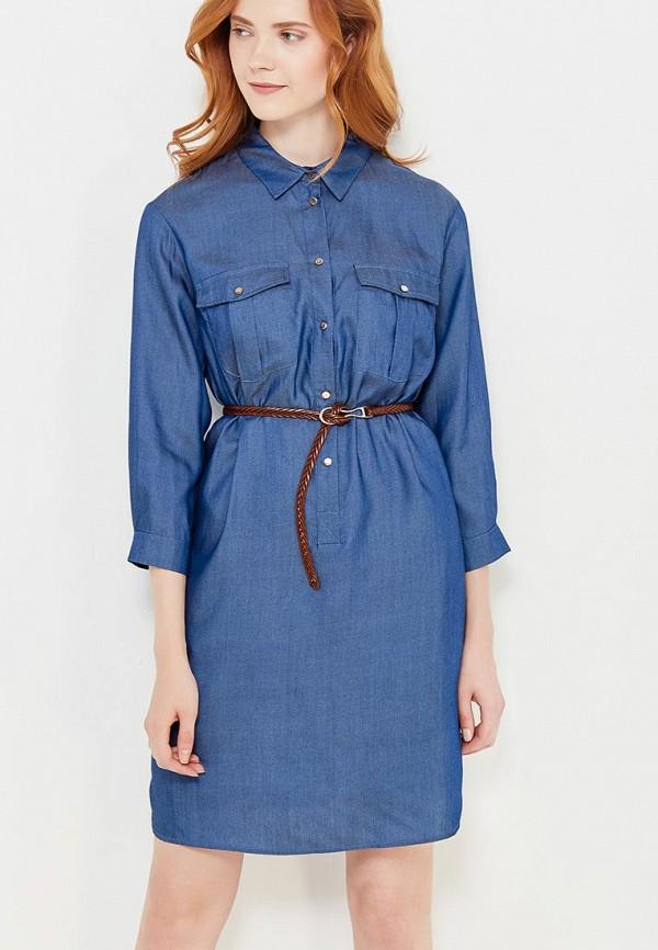 женское платье lusio, синее