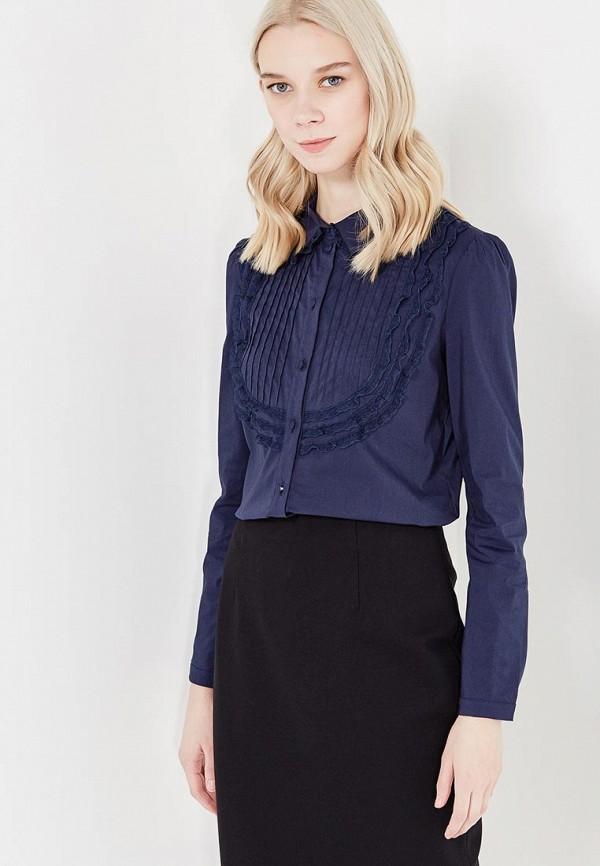 Фото - женскую блузку Lusio синего цвета