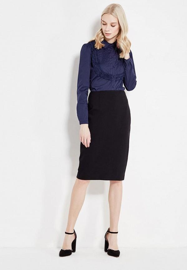 Фото 2 - женскую блузку Lusio синего цвета