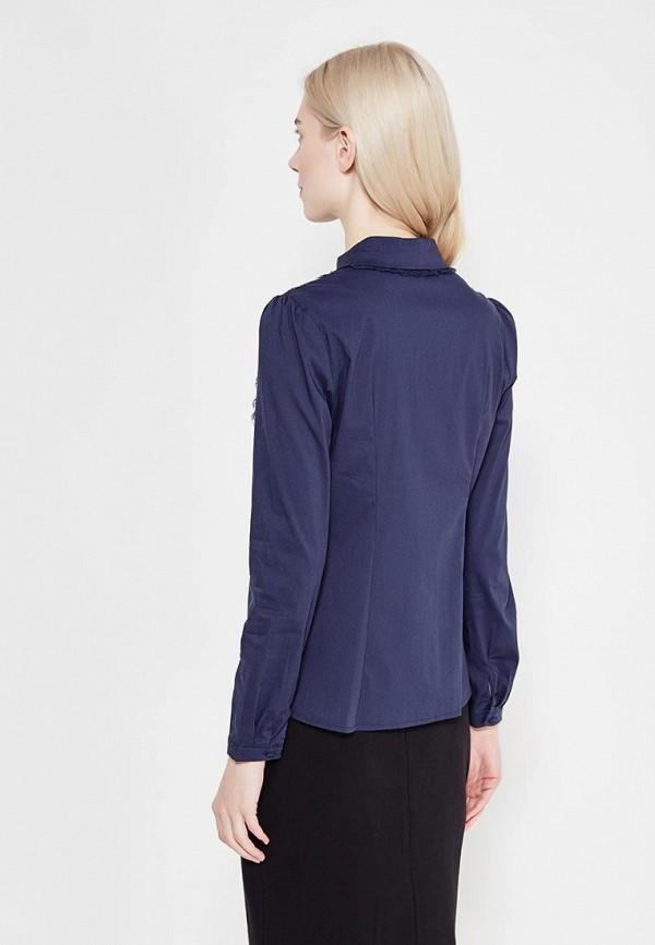 Фото 3 - женскую блузку Lusio синего цвета