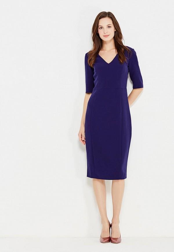 Фото 2 - женское платье Lusio синего цвета