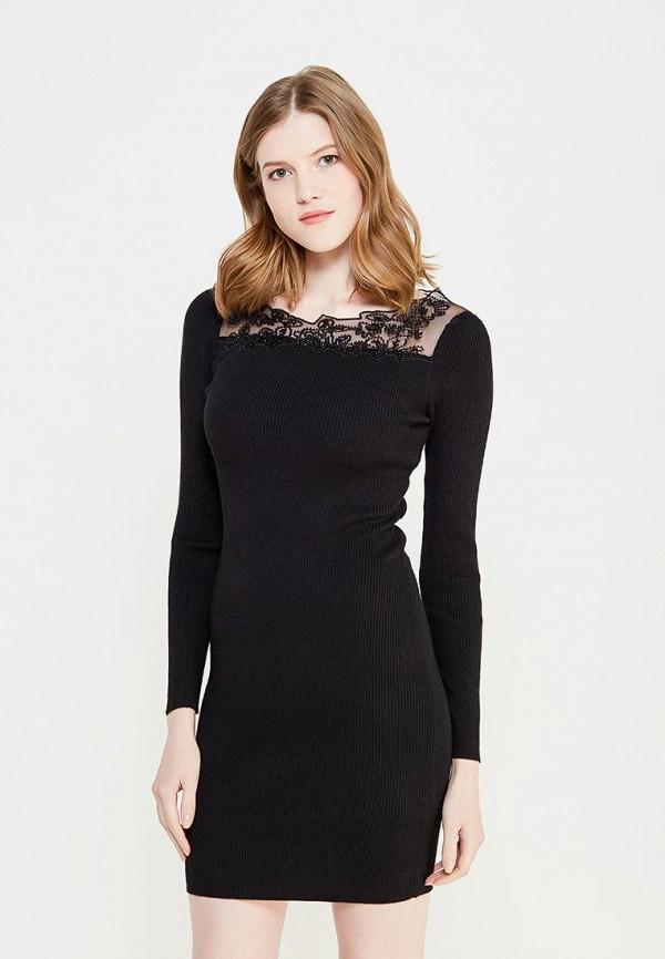 женское вечерние платье lusio, черное