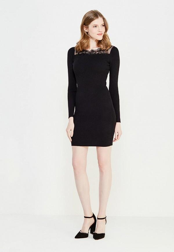 Фото 2 - женское вечернее платье Lusio черного цвета