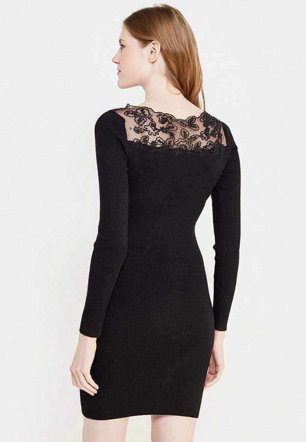 Фото 3 - женское вечернее платье Lusio черного цвета