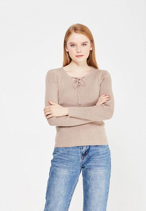 Фото - женский пуловер Lusio бежевого цвета