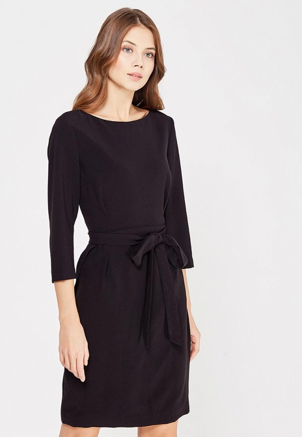Фото - женское платье Lusio черного цвета