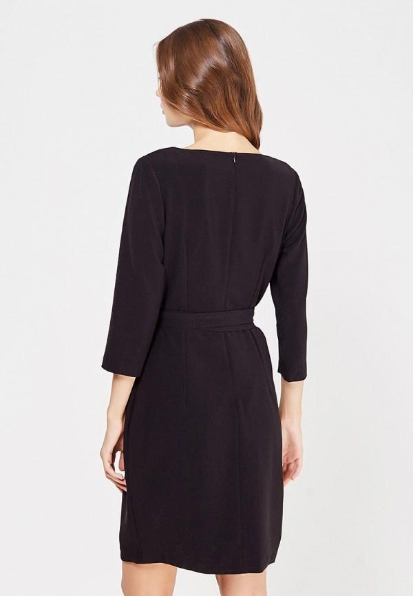 Фото 3 - женское платье Lusio черного цвета
