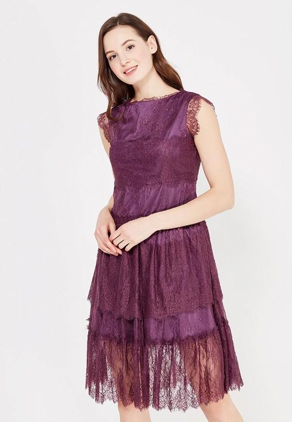 Фото - женское вечернее платье Lusio фиолетового цвета