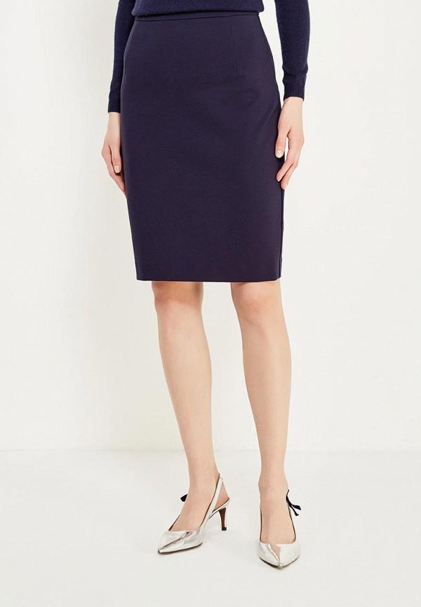 женская прямые юбка lusio, синяя