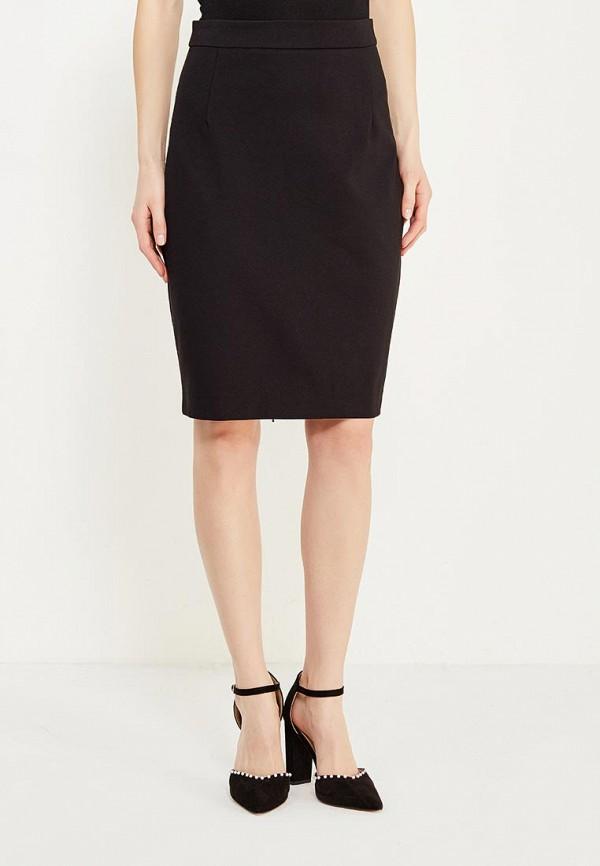 женская прямые юбка lusio, черная