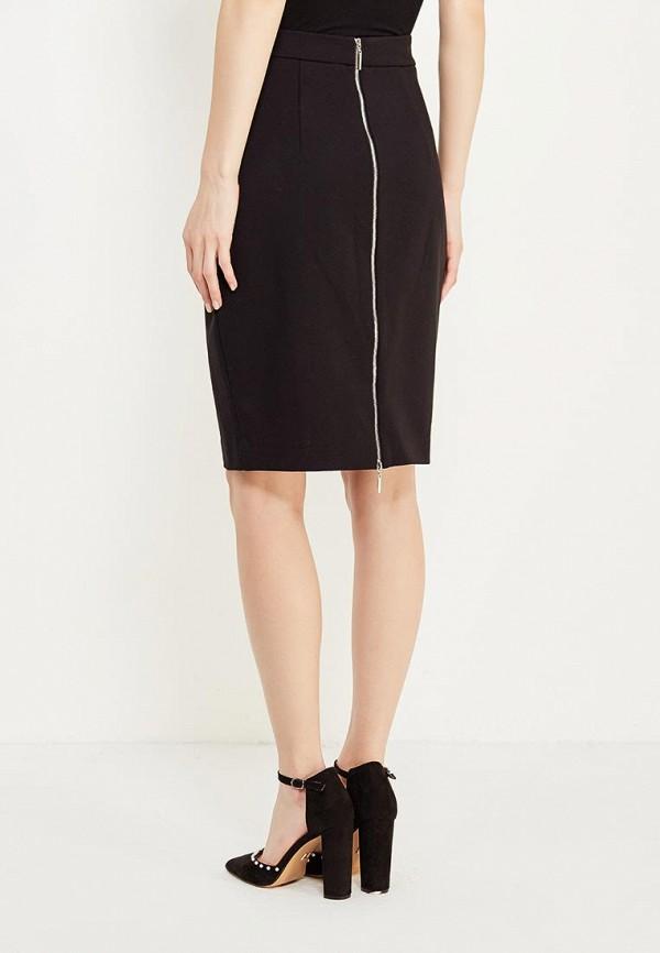 Фото 3 - женскую юбку Lusio черного цвета
