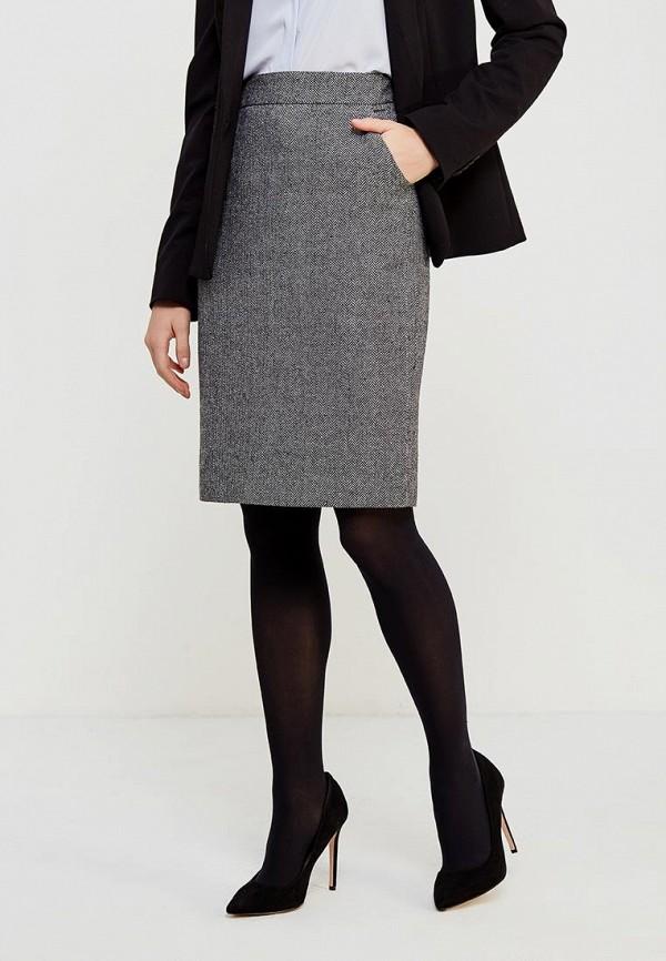 Фото - женскую юбку Lusio серого цвета
